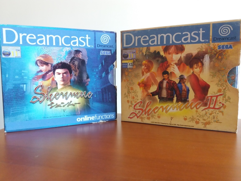 Shenmue CDs