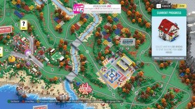 Exemplo do mapa de jogo