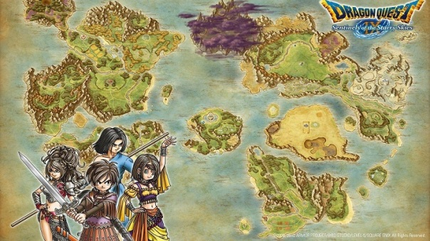Dragon Quest Map