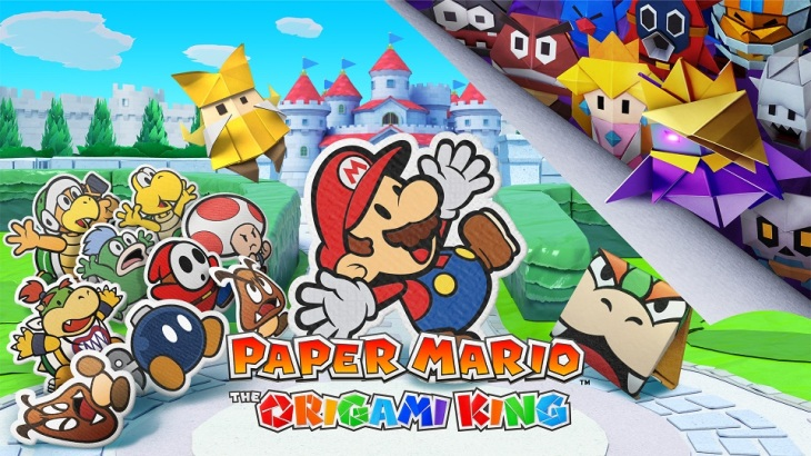 papermario the origami king