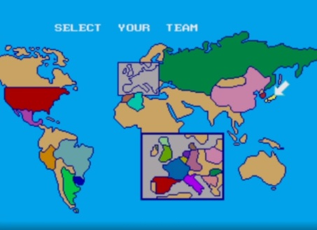 world cup italia 90 mapa