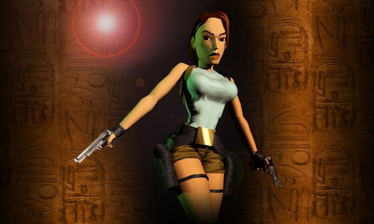 gaveta retro tomb raider