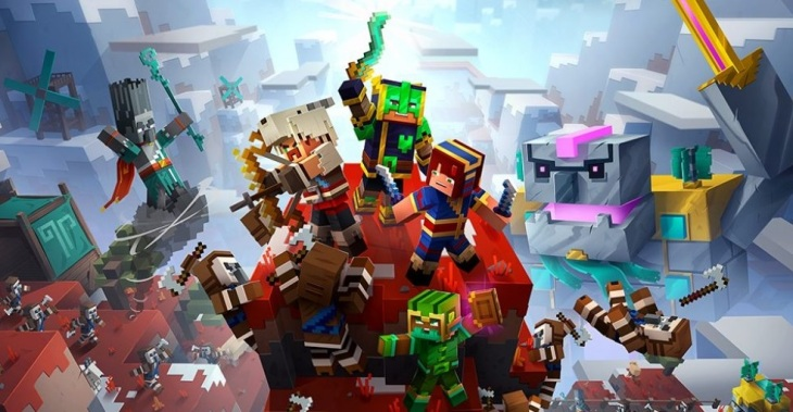minecraft dungeons howling peaks análise